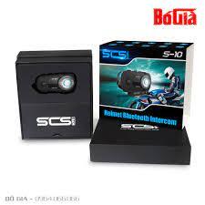 Tai nghe Bluetooth Camera Intercom SCS S-10 gắn mũ bảo hiểm