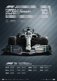 Their spanish poster was pretty much the same. Mercedes Poster Amg Petronas F1 Team 70th Anniversary 2010 2019 Limited Edition Selection Rs