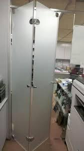 frameless bi fold glass door