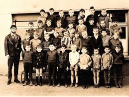 Photo de classe École Primaire de 1967, Ecole Primaire (Kuntzig) - Copains  d'avant