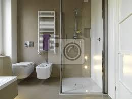 Carta Da Parati Nel Bagno : Carta da parati bagno moderno con doccia in muratura e vetro