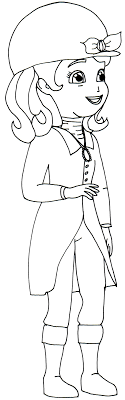 Sofia The First Coloring Pages Sofia