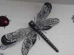 dragonfly metal wall art large