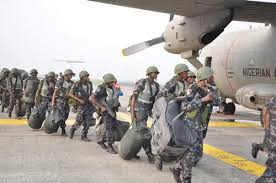 air force vehicle operations nigerian air force personnel exit nigeria for afisma operations