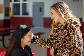 her artistic skills by applying junior nicole wolfe s makeup piedra found her pion as a makeup artist in the seventh grade portrait by nyan clarke