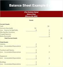 Simple Balance Sheet Excel Sample Balance Sheet Format Excel Template Meaning In
