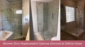 blog shower door replacement options abound at desola glass desola glass art frame gallery