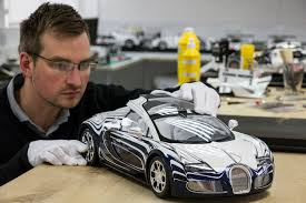 Beyond history, there are other reasons for locating bugatti. Bugatti Veyron Grand Sport L Or Blanc Scale Model Is Beautiful Autoevolution