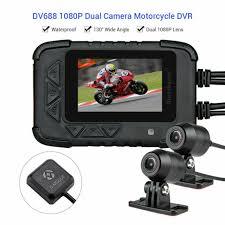<b>Blueskysea DV688</b> HD 1080p 2.35 in. LCD Dual Lens <b>Motorcycle</b> ...