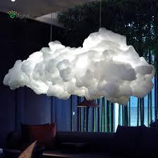 cloud lighting fixtures. Modern Floating Cloud Led Pendant Chandelier Luminaria White Cotton Bedroom Chandeliers Lighting Hanging Lights Fixtures