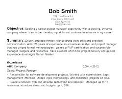 Sample Resume Objectives For Students Resumes Objectives Wikirian Com