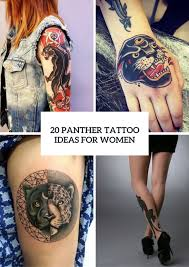 20 Panther Tattoo Design Ideas For Girls To Repeat Styleoholic