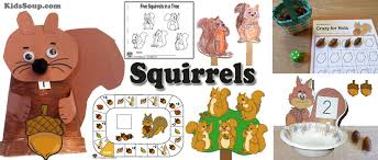 Fall Lesson Plans For Toddlers Squirrels Preschool And Kindergarten Activities And Lessons Kidssoup