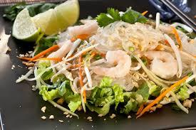 asian gl noodle salad with shrimp