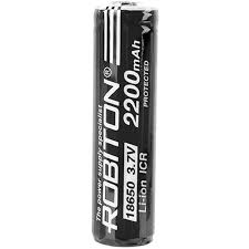 Купить <b>Аккумулятор Robiton 18650 2200mAh</b>, Батарейки ...