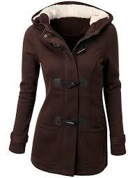 2017winter jacket women hooded winter coat fashion autumn women parka horn on coats abrigos y chaquetas mujer invierno brown lazada