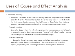 analyzing causes and effects ppt video online  3 uses