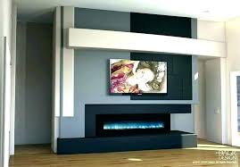 electric fireplace entertainment center enterprise in white