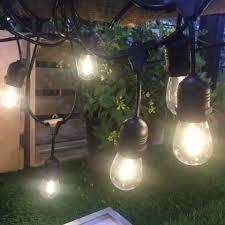 vintage outdoor solar fairy string