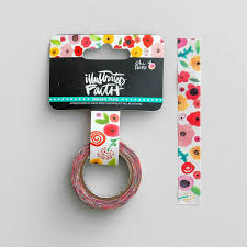 Washi Tape Illustrated Faith She Blooms Bloom Washi Tape Dayspring