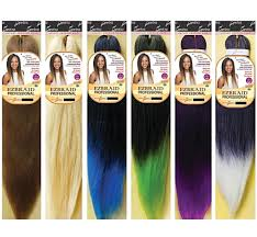 Red Hair Weave Color Chart Spetra Ez Braid 26
