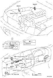 Electronic fuel injection system toyota land cruiser 90 kdj9 kzj9 vzj9 europe