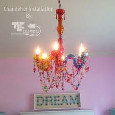 tlc electrical can refurbish and retro fit these chandeliers for you and install them anywhere
