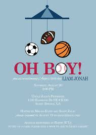 Sports Theme Baby Shower Invitations  CimvitationBaby Shower Invitations Sports Theme