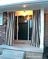 outdoor screen curtains front porch patio