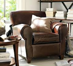 leather chairs with ottoman pottery barn chair leather chairs ottoman set