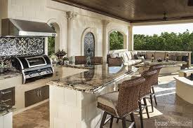 outdoor kitchen pavilion designs. the pool pavilion features a fully functional outdoor kitchen with fire magic echelon black diamond grill, fusion granite countertops accented by mosaic designs e
