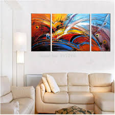 abstract painting wall decor home hanging hand painted oil painting art home decor hang paintings wall decor  gr