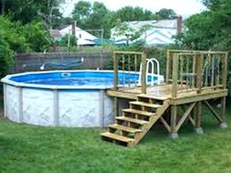 above ground pool deck ideas on a budget leveling above ground pool above ground pool deck plans multi level above ground pool deck ideas on a budget