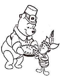 Small Picture Disney Thanksgiving Coloring Page For Kids Thanksgiving Coloring
