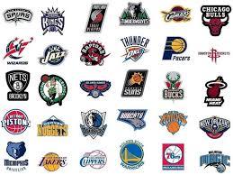 Amazon.com : NBA Decal Stickers Basketball New Team Logo ...