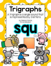 Squ Trigraph Anchor Chart Practice Click File Print