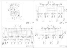Курсовые и дипломные проекты по электроснабжению Чертежи РУ Дипломный проект Электроснабжение горношахтного завода схемы электроснабжения в 3 вариантах