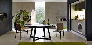 round table large round modern dining table  dream table furniture