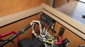 caravan modifications western wanowandthen com new fuse box we removed the wiring from the original jayco charger