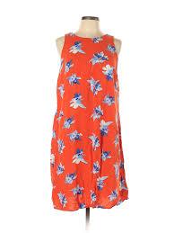 0x Plus Size Chart Details About Ava Viv Women Orange Casual Dress 0x Plus