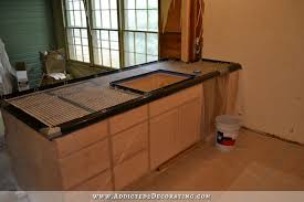 diy pour in poured concrete countertops on stainless steel countertops