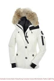 Canada Goose Sale Hong Kong Canada Goose Montebello Parka Cg55 Pearl  Women s Jacket