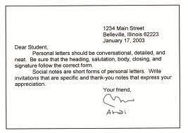 Personal Letter Belajar Bahasa Inggris
