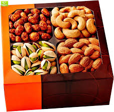 holiday gift basket gourmet food nuts 4 diffe delicious nuts five star