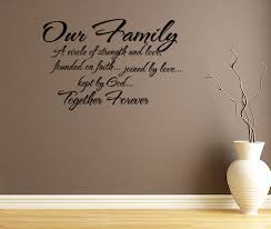 Wall Decal Quotes Mesmerizing Family Quotes Wall Decals Elitflat