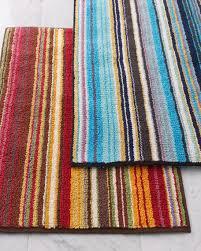 jazel striped bath mat