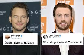 This Twitter Exchange Between Chris Evans And Chris Pratt Will Make You  Smile