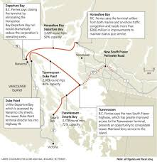 everybody wants to fix bc ferries, but nobody knows how the Bc Ferries Map \u201cbc ferries provided an efficiency proposal for me to look at and to consider i will be looking at it,\u201d mr macatee said in an interview bc ferry map