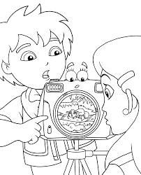 Small Picture Camera Coloring Pages Coloring Home