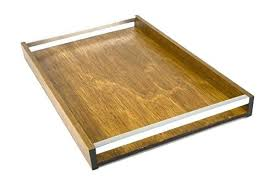 Decorative Serving Trays With Handles wooden tray with handles edexme 91